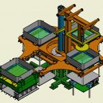 Carrousel de moulage main / machines speciales