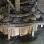 Détartrage chambre d'eau , turbine et directrices