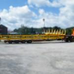 Transbordeur 6 tonnes pour des fagots de tube de cuivre