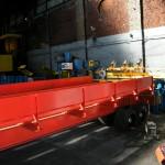 Unité de chargement installée et transstockeurs en position de chargement / machines speciales Close