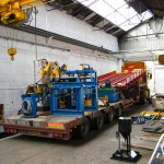 Unité de chargement automatique de lopins sur des transstockeurs de 36 tonnes Close